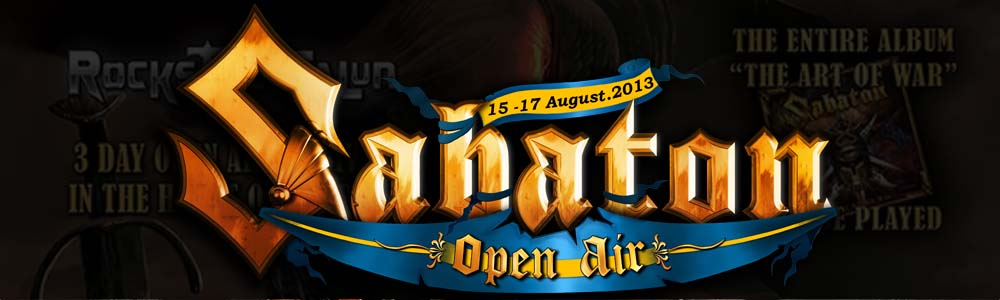 SABATON OPEN AIR – New Event Name, New Logo Design!