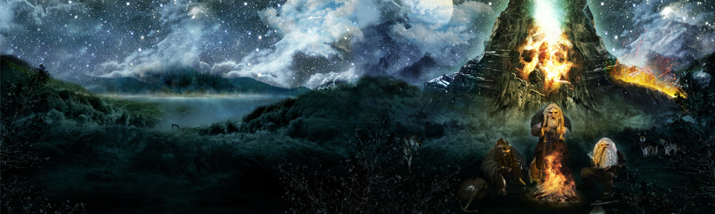 HUGIN MUNIN – The MOUNTAINBREAKER Artwork